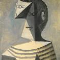 Picasso_Busto-di-uomo-in-maglia-a-righe